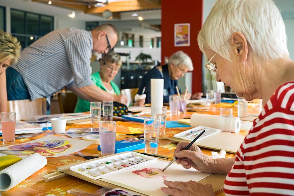 Arteterapia, un nuevo enfoque para trabajar con Personas Mayores