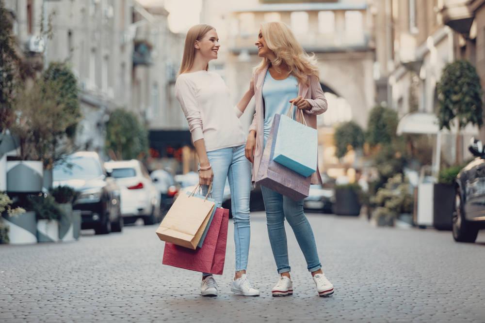 De compras con tus hijas
